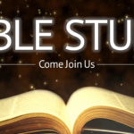 New Tuesday Evening Bible Study to begin