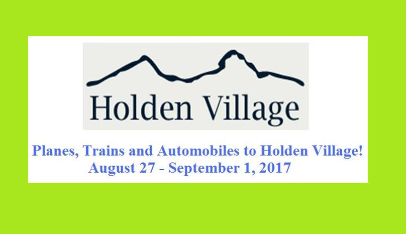 Holden Village – Here We Come!