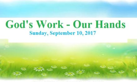 WORK, OUR HANDS Day was Sunday, September 10, 2017