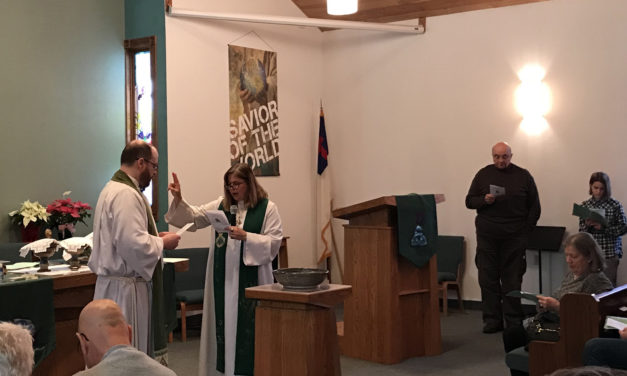 Sunday, Jan. 21, 2018, sermon and installation of Pastor James Muske
