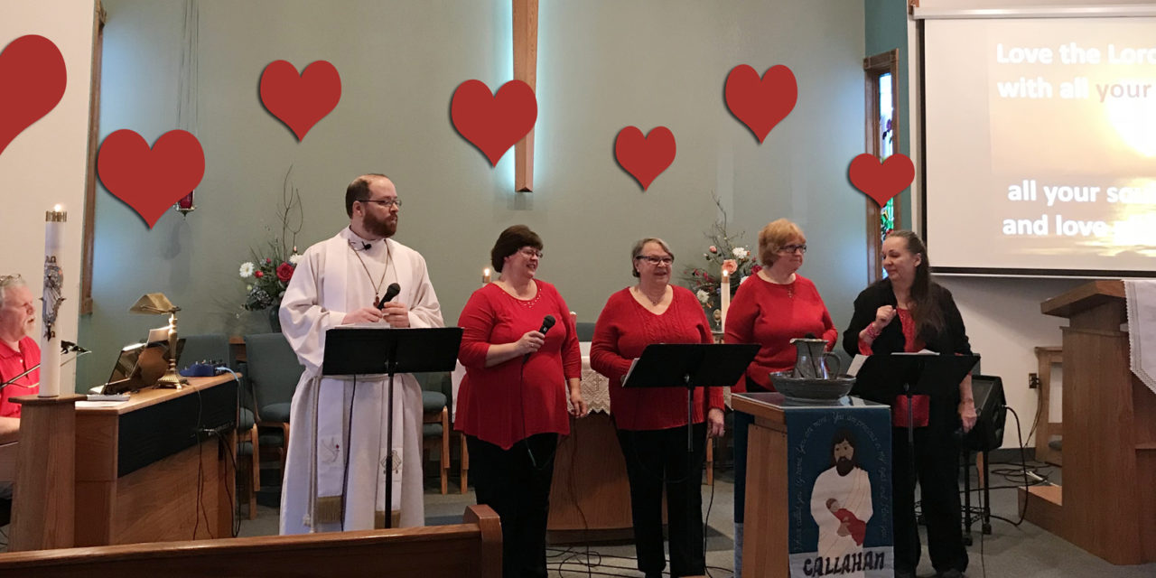 Praise Choir and Sunday Service for Feb. 11, 2018